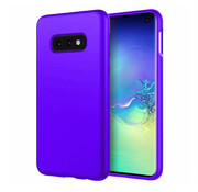 ShieldCase® Silicone case Samsung Galaxy S10e (donkerpaars)