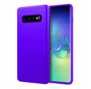 ShieldCase® Silicone case Samsung Galaxy S10 (donkerpaars)