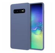 ShieldCase Silicone case Samsung Galaxy S10 (lavendel grijs)