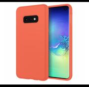 ShieldCase® Silicone case Samsung Galaxy S10e (oranje)