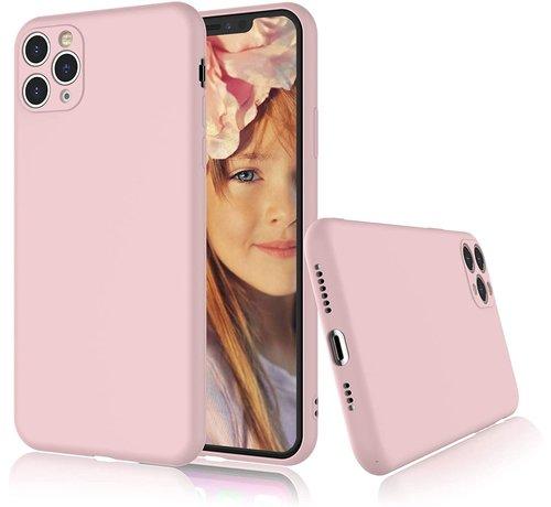 ShieldCase Shieldcase Siliconen hoesje met camera bescherming iPhone 11 Pro (roze)