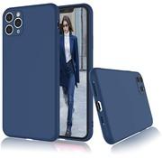 ShieldCase Siliconen hoesje met camera bescherming iPhone 11 Pro (blauw)
