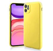 ShieldCase Siliconen hoesje met camera bescherming iPhone 11 (geel)