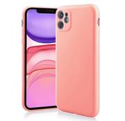 ShieldCase® Siliconen hoesje met camera bescherming iPhone 11 (roze)