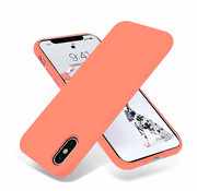 ShieldCase® Silicone case iPhone X / Xs (oranje)