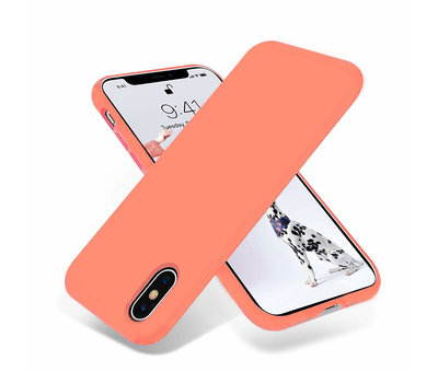 ShieldCase ShieldCase Silicone case iPhone X / Xs (oranje)