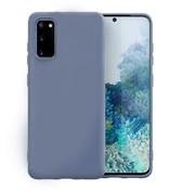 ShieldCase Samsung Galaxy S20 hoesje siliconen (lavendel grijs)