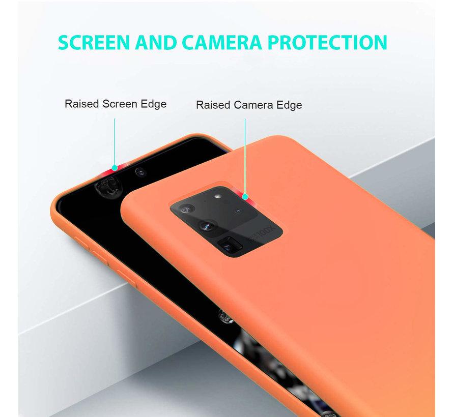 Shieldcase siliconen hoesje Samsung Galaxy S20 Ultra (oranje)