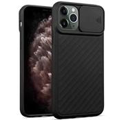 ShieldCase® iPhone 11 Pro hoesje met camera slide cover (zwart)