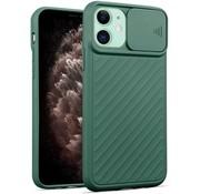 ShieldCase® iPhone 11 hoesje met camera slide cover (groen)