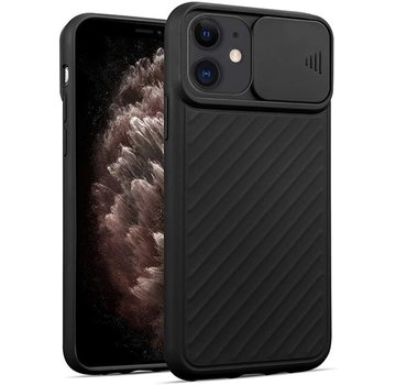 ShieldCase® iPhone 11 hoesje met camera slide cover (zwart)