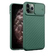 ShieldCase iPhone X / Xs hoesje met camera slide cover (groen)