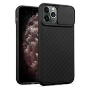 ShieldCase iPhone X / Xs hoesje met camera slide cover (zwart)
