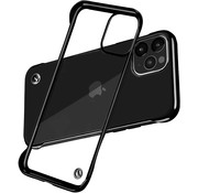 ShieldCase® iPhone 11 Pro Max slim case met bumpers (zwart)