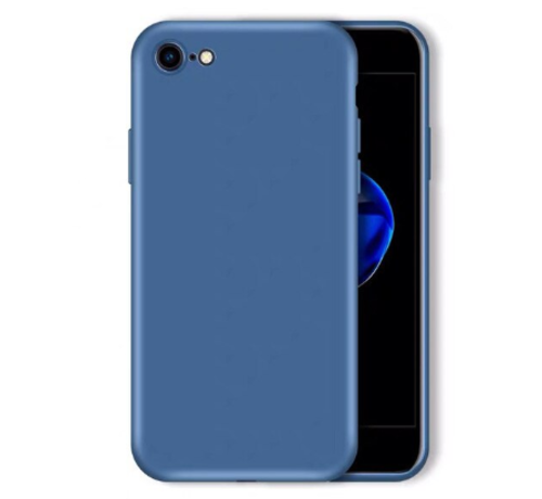 ShieldCase® Shieldcase Siliconen hoesje met camera bescherming iPhone 7 / 8 (blauw)