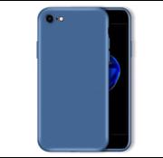 ShieldCase Siliconen hoesje met camera bescherming iPhone SE 2020 (blauw)