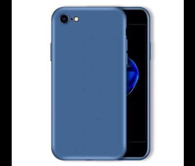 ShieldCase Shieldcase Siliconen hoesje met camera bescherming iPhone SE 2020 (blauw)