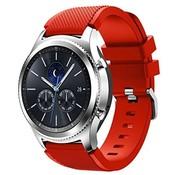 Samsung Gear S3 siliconen bandje (rood)