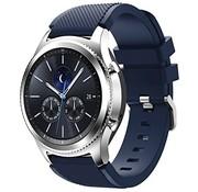 Samsung Gear S3 siliconen bandje (donkerblauw)