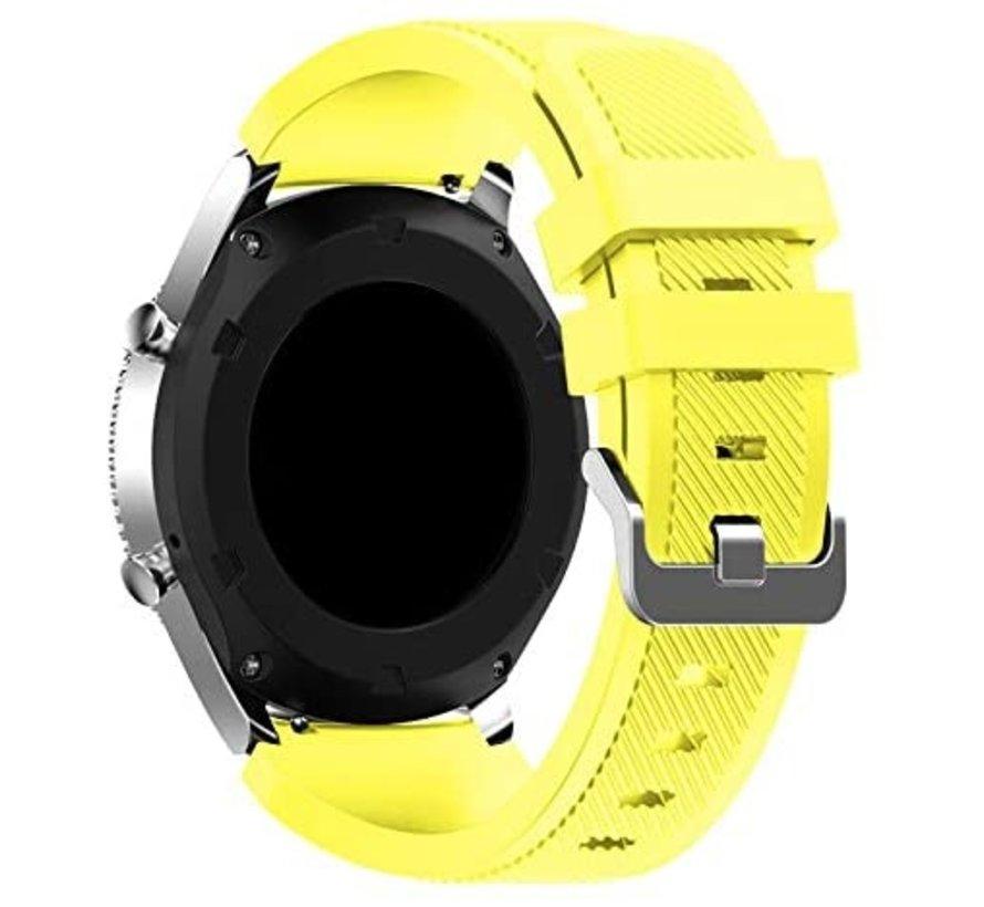 Samsung Gear S3 siliconen bandje (geel)