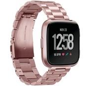 Fitbit Versa stalen bandje (roze)