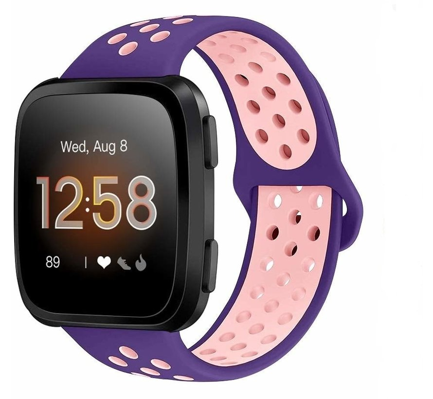 Fitbit Versa sport band (paars/roze)