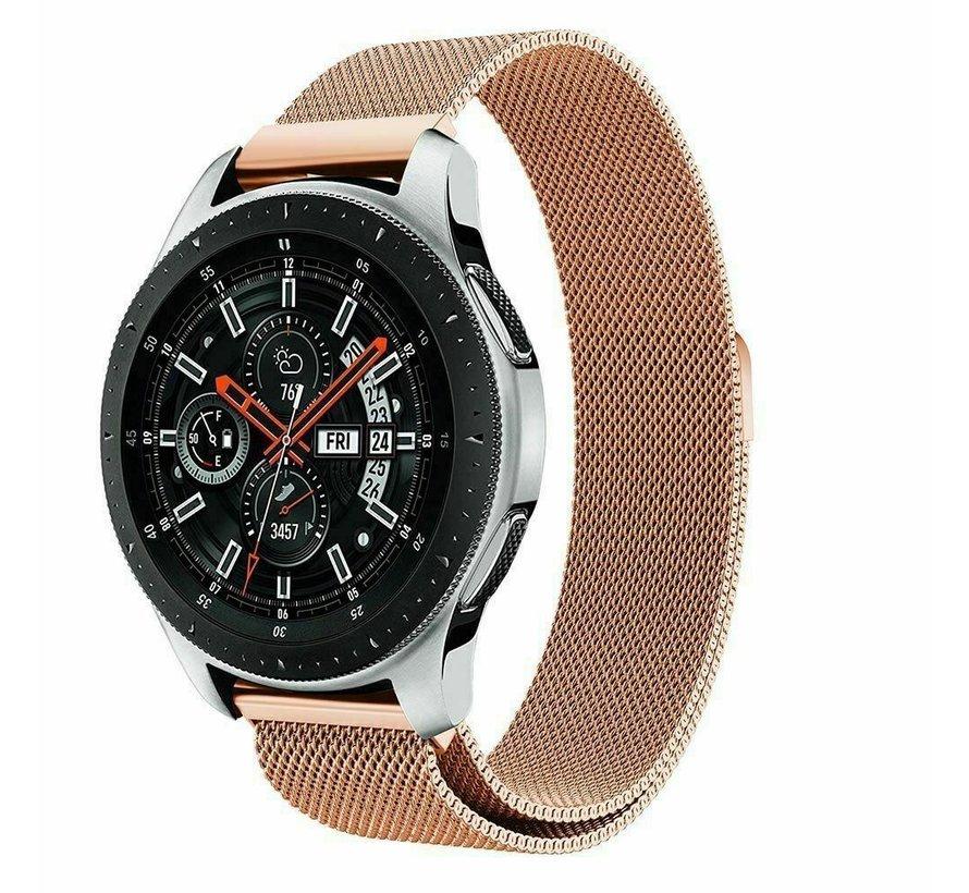 Samsung Galaxy Watch Milanese band (rosé goud)