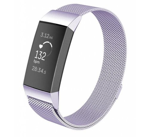 Fitbit Charge 3 Milanese band (lila)