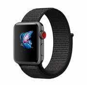 Apple Watch nylon band (zwart)