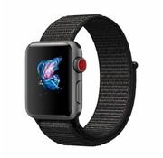 Apple Watch nylon band (zwart)
