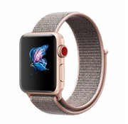 Apple Watch nylon band (pink sand)