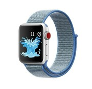 Apple Watch nylon band (blauw)