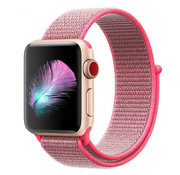 Apple Watch nylon band (roze)