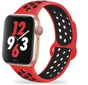 Apple Watch sport+ band (rood/zwart)
