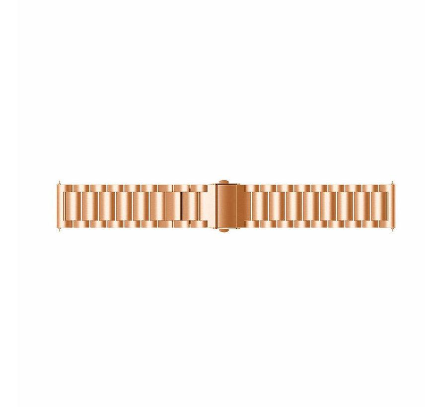 Samsung Galaxy Watch stalen band (rosé goud)