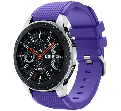 Samsung Galaxy Watch silicone band (paars)