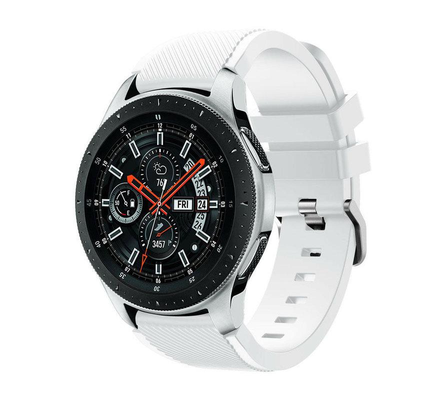 Samsung Galaxy Watch silicone band (wit)
