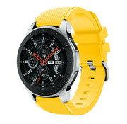 Samsung Galaxy Watch silicone band (geel)