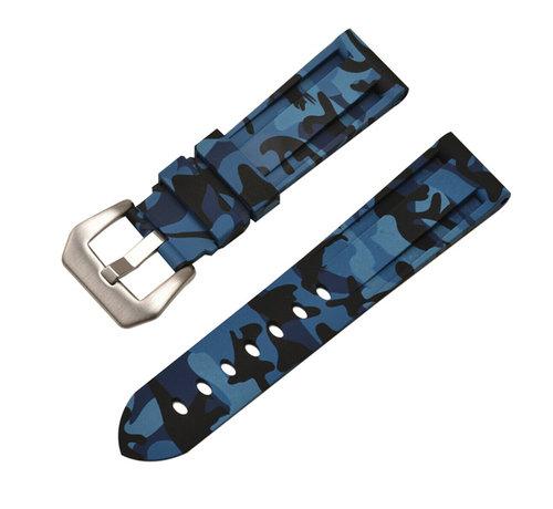 Samsung Galaxy Watch camouflage band (blauw)