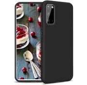 ShieldCase® Silicone case Samsung Galaxy A41 (zwart)