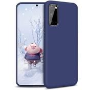 ShieldCase® Silicone case Samsung Galaxy A41 (blauw)