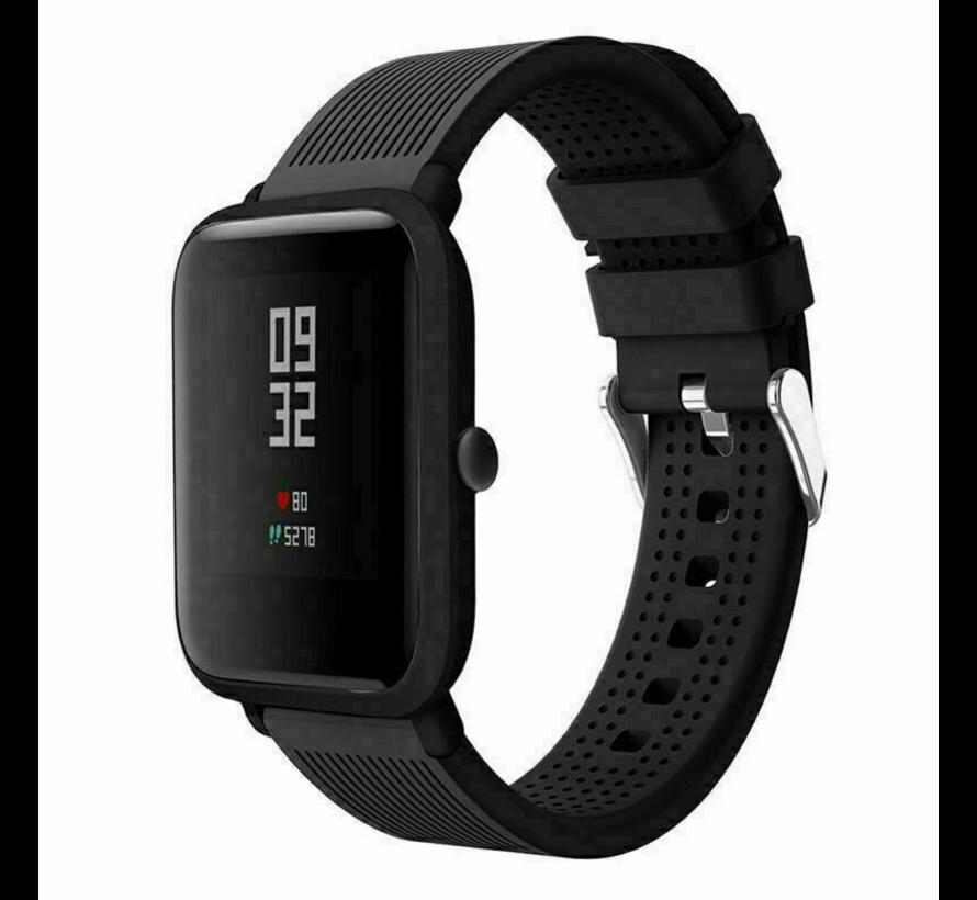 Xiaomi Amazfit Bip silicone band (zwart)