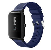 Xiaomi Amazfit Bip silicone band (donkerblauw)