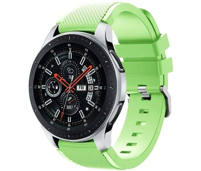 Samsung Galaxy Watch silicone band (lichtgroen)