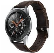 Samsung Galaxy Watch leren bandje (donkerbruin)