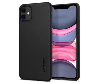 Spigen Spigen Thin Fit Case voor de iPhone 11 - Zwart