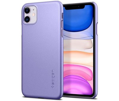 Spigen Spigen Thin Fit Case voor de iPhone 11 - Paars