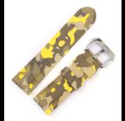 Samsung Galaxy Watch camouflage band (geel)