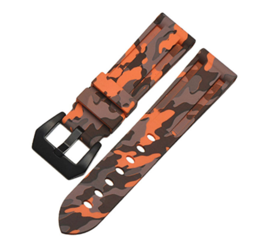 Samsung Galaxy Watch camouflage band (oranje)