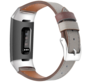 Fitbit Charge 4 leren bandje (donkergrijs)